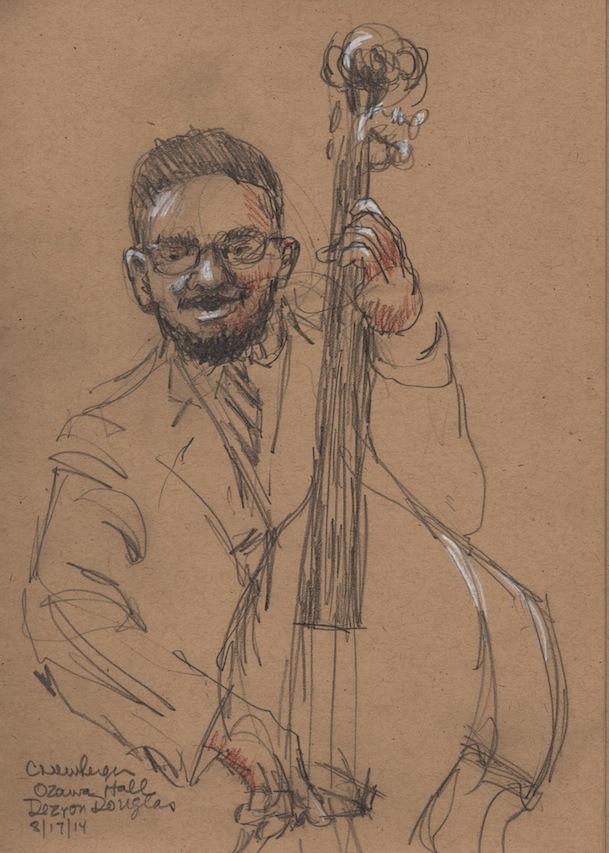 Dezron Douglas on the Bass