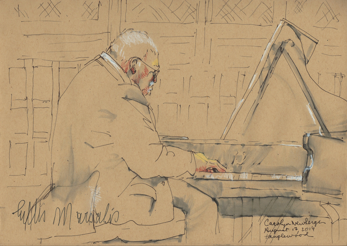 Ellis Marsalis at the Piano