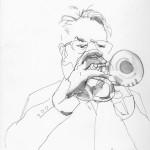 Hakan Hardenburger, Trumpet