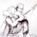 Pepe Romero, 2011, Ink on Paper