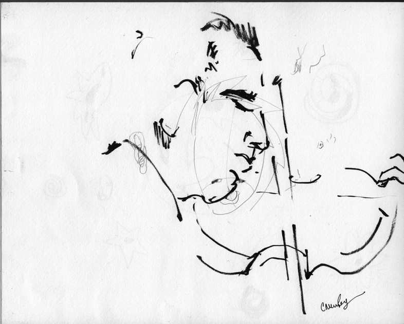 Pierre Colombet, 2012, Ink on Paper