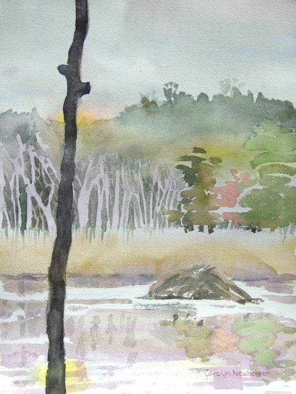 Pleasant Valley Homestead, 2012, Watercolor