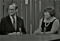Wally Cox Meets Carolyn Moore (Newberger). Click for Video.