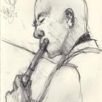 Stan Strickland, Jazz Flute