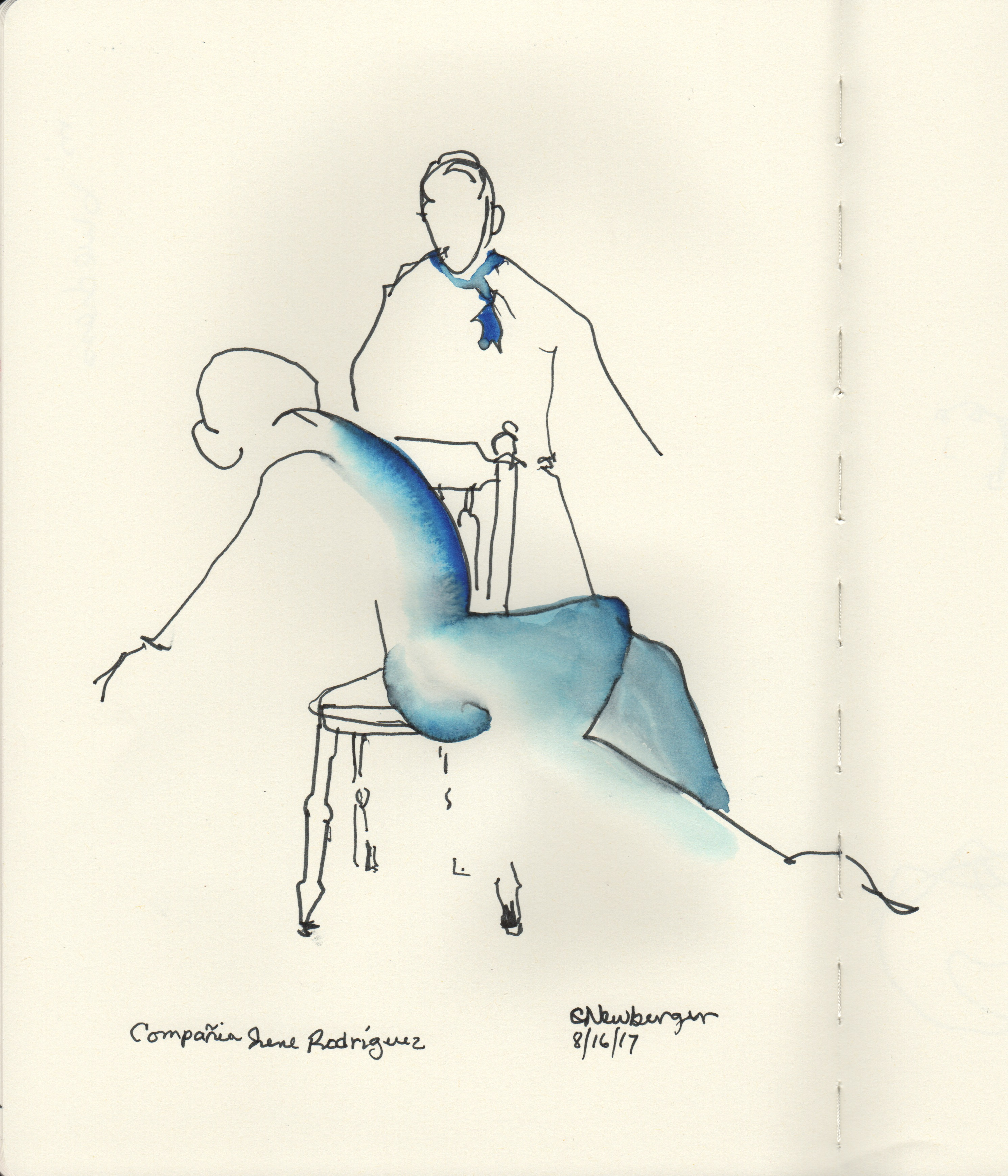 Compagñia Irene Rodriguez, Duet in Blue